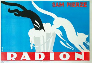 "T.Gronowski ""Radion sam pierze"",plakat 1926 r."