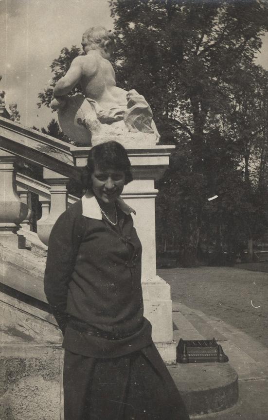 Tropem ostatniej właścicielki pałacu w Kozłówce